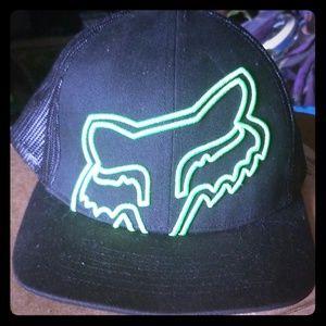 Fox racing trucker hat